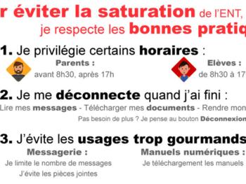 """Information """"MON BUREAU NUMERIQUE"""""""
